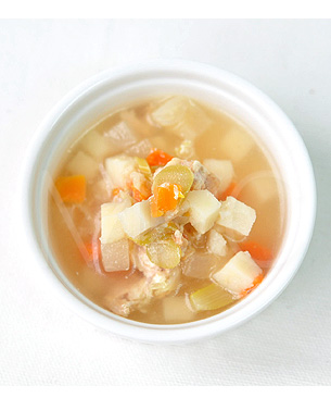 POCHI 5種の野菜と鶏肉のスープ